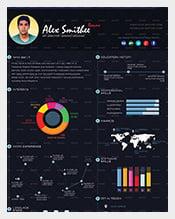 Dark-Pro-Infographic-Resume
