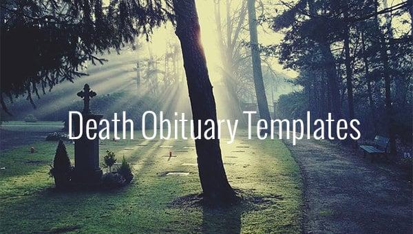 deathobituarytemplates