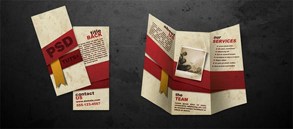 How To Make A Brochure Top Brochure Making Tutorials Free - Template to make a brochure