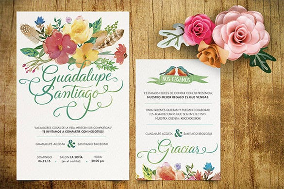 Wedding Card Envelope Template   Free Printable Sample Example