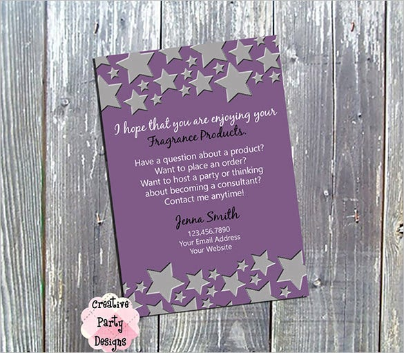 digital business thank you card design