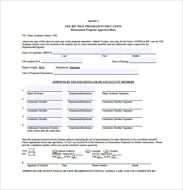 thesis proposal form rsm Ferpa forms ferpa authorization form note: according to ferpa rules, only authors of the dissertation or thesis, or those they authorize, may receive an edited.