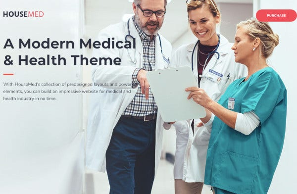 doctor medical and health theme