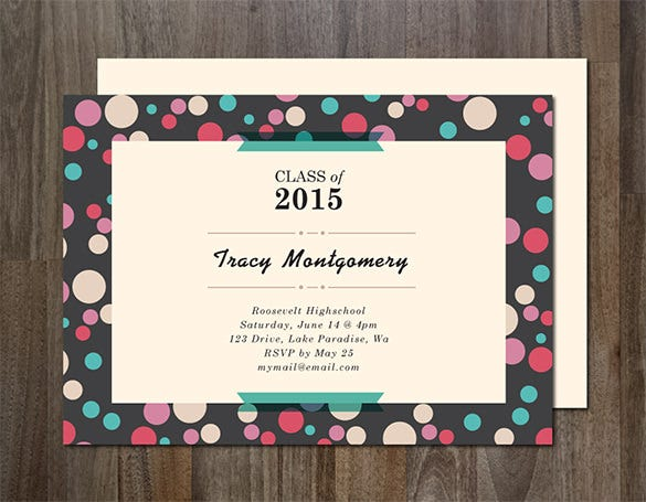 download graduation announcement card template