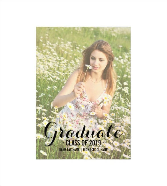 download photo graduate party invite card