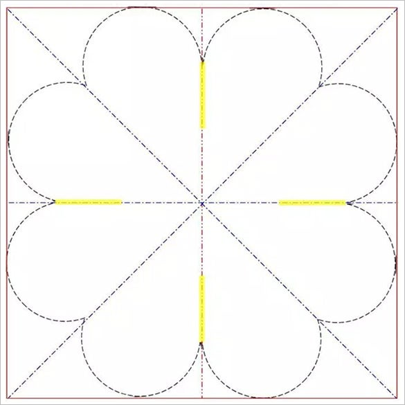 6  quarter fold card templates