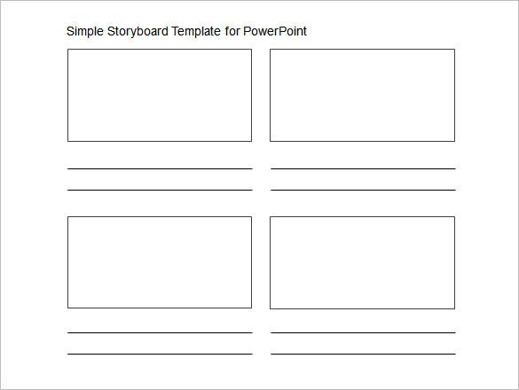 Powerpoint Storyboard Template   Free Word Excel Pdf Ppt