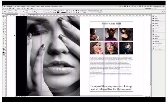 duplicate content tutorial in indesign cs6