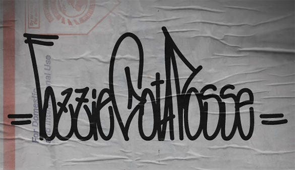 dynamic graffiti letter download