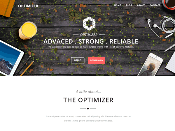 Easy Customizable Multi-Purpose Free Theme