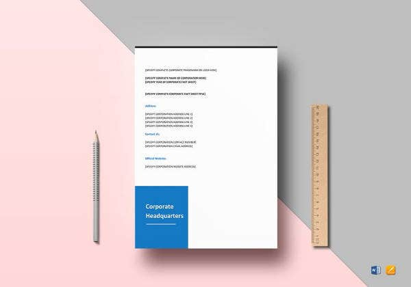 easy-to-edit-corporate-fact-sheet-template