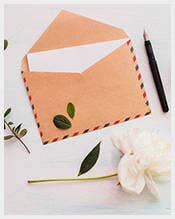 Eco-Rustic-Peony-Letter-Envelope-Template-–-$5