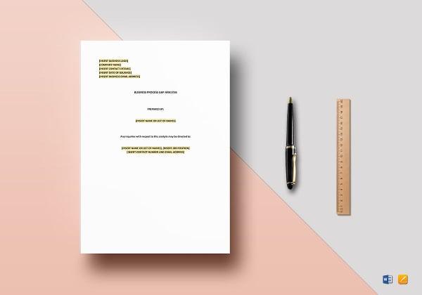 editable-business-process-gap-analysis-template