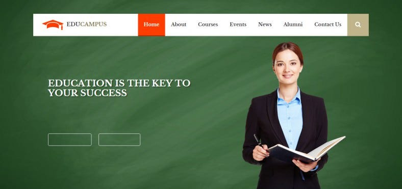 educampus education university html template 788x371