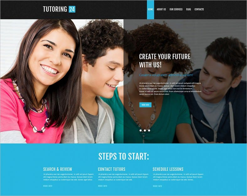 education online wordpress theme 788x624