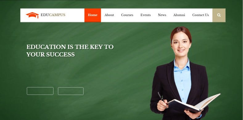 Education & University WordPress Theme