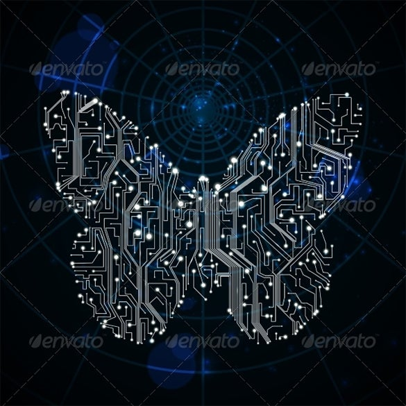 electric premium butterfly background download