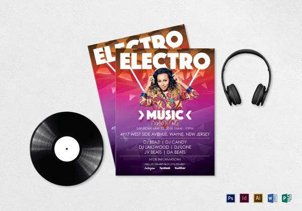 electronic-music-flyer-template