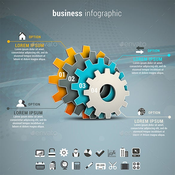 elegant infographics premium download