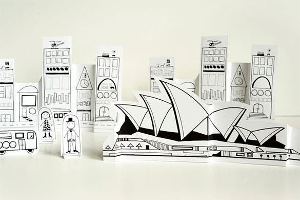 elegant sydney paper art and craft