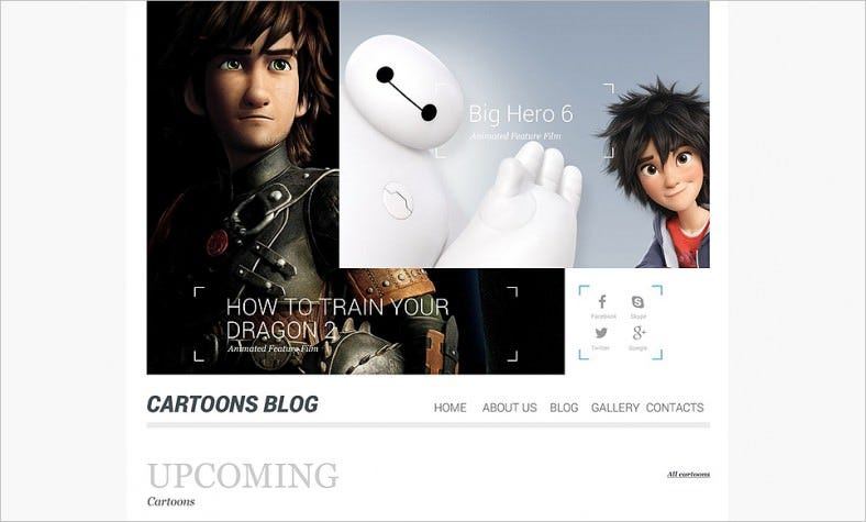 Entertainment Blog WordPress Template