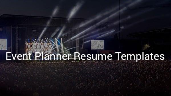 eventplannerresumetemlpates