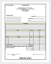 example tax invoice receipt free