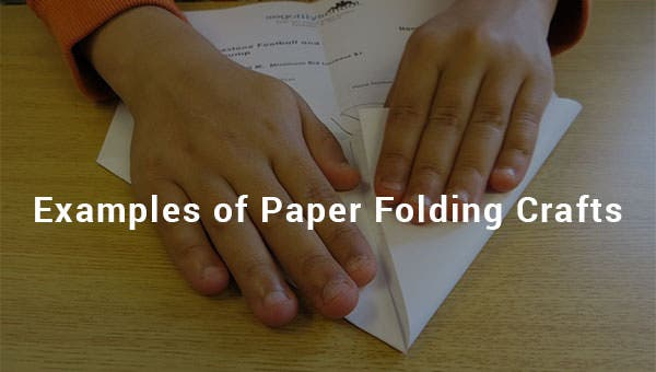 examples of paper folding crafts