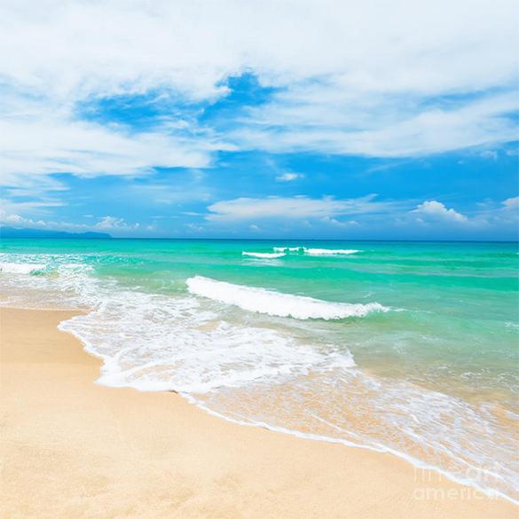 excellent 3d beach painting