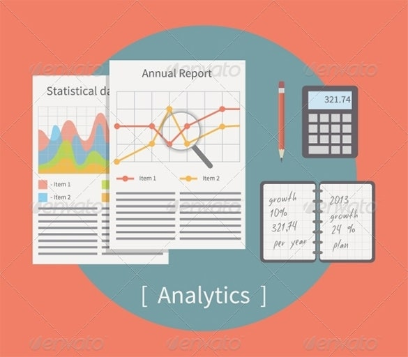 excellent analyst illustrator template