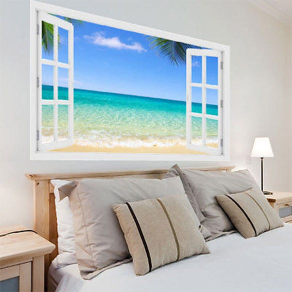 exclusive 3d beach painting