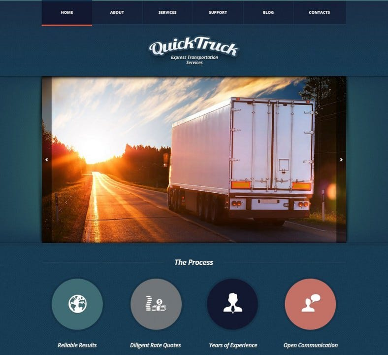 Express Transport Service Joomla Template