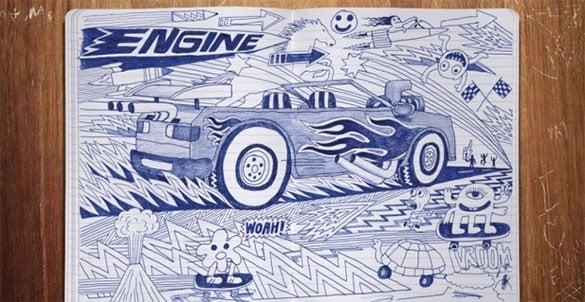 extraordinary doodle art template