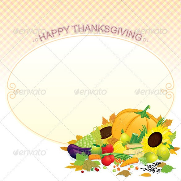 extraordinary thanks giving illustrator template