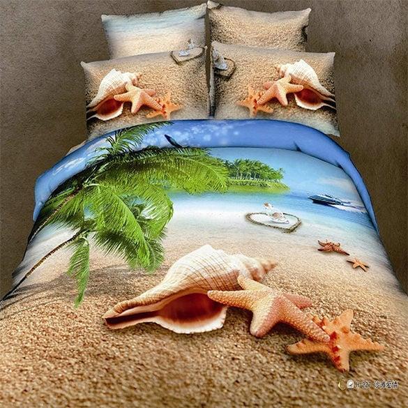 extravagant 3d beach painting