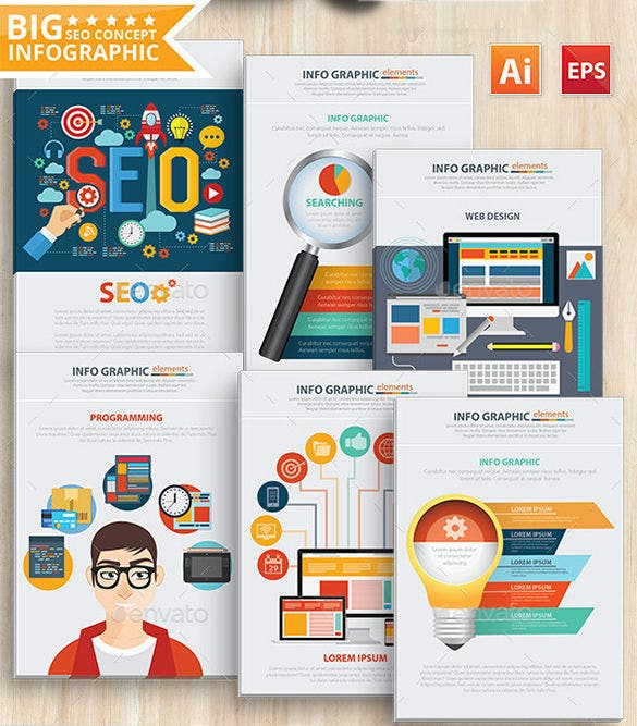fabulous seo infographic design download