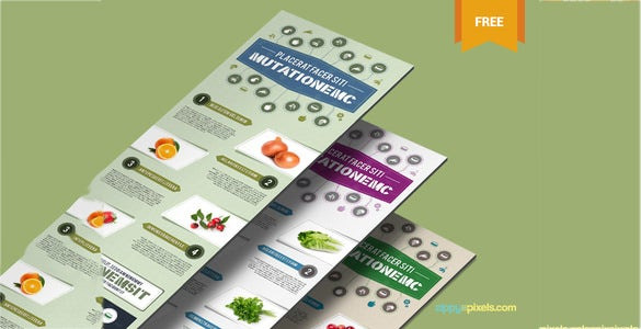 fabulous free infographic psd template download