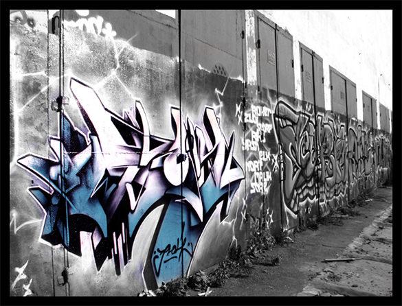 fabulous graffit letter download