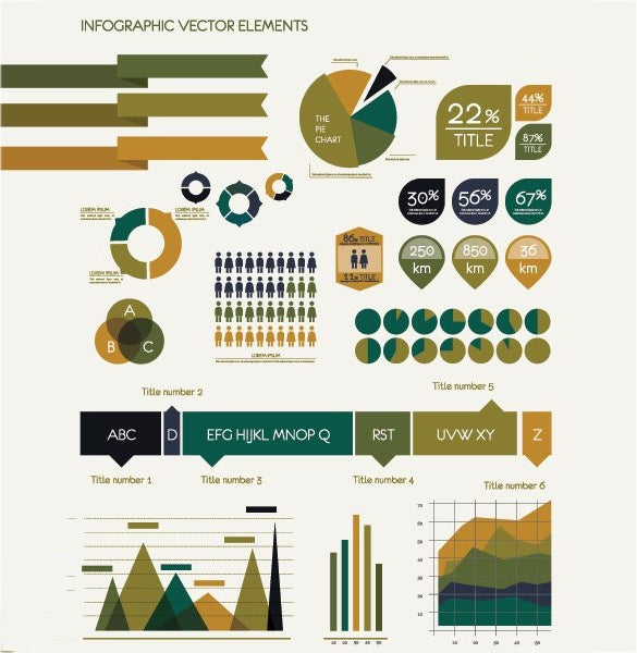 fabulous infographic vector template download
