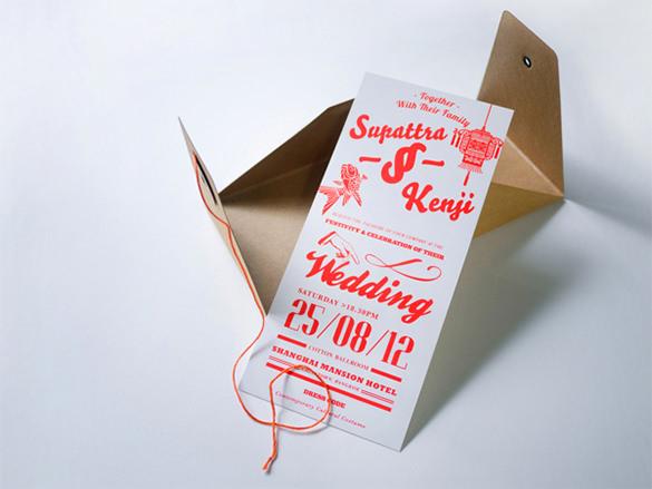fabulous wedding card envelope template1