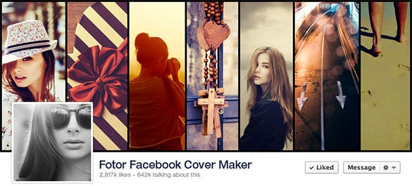 facebook cover banner maker sample