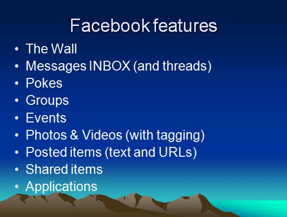 facebook powerpoint template 6 free ppt format download free