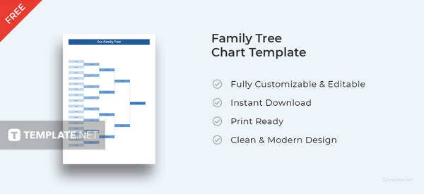 family tree template 140 free word excel pdf format download