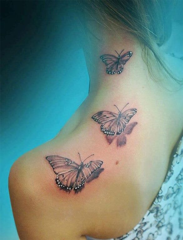 24 Inspiring 3d Butterfly Tattoos Designs Free Premium Templates,Master Bedroom Designs Indian Style