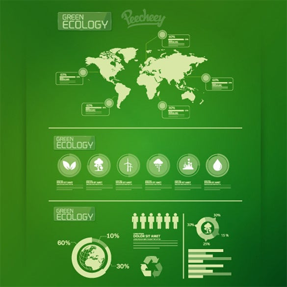 fantastic infographic psd template download