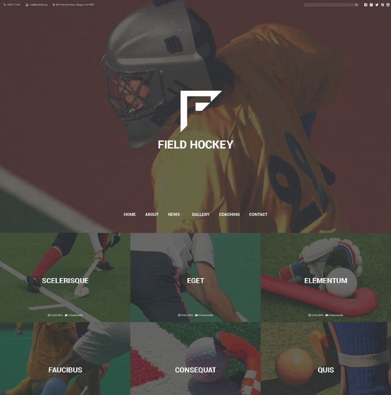 field hockey club website template 788x797