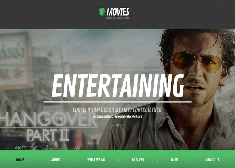 flat movie wordpress theme 788x563