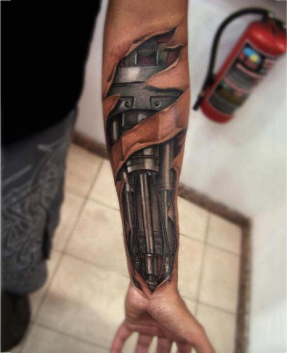 flawless 3d tattoo design