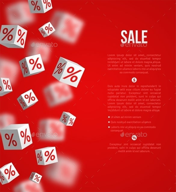 flawless sale illustrator template