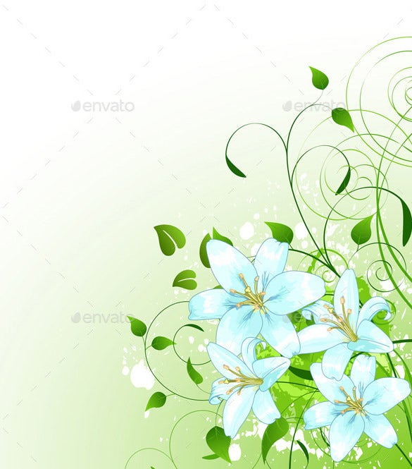floral spring background premium download